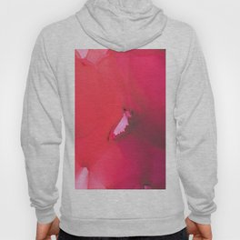 Red flower Hoody