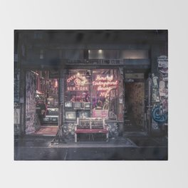 Underground Boxing Club NYC Throw Blanket