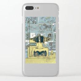 ПОЧТА ( Post ) Clear iPhone Case