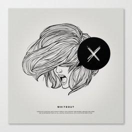 STV - Whiteout Canvas Print