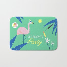 Ready to Party Bath Mat