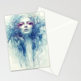 Oil Stationery Cards