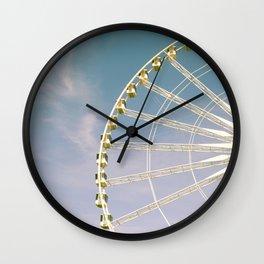 Paris Ferris Wheel Wall Clock