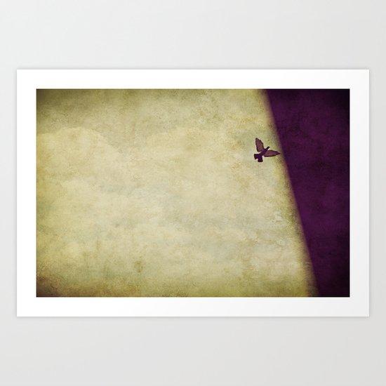 Travelling to Eternal Darkness Art Print