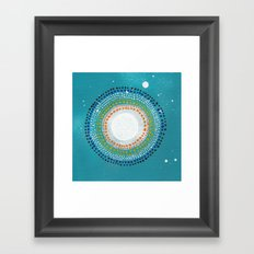 Dotto 8 Framed Art Print