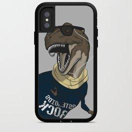 Hipstereosaurus Rex iPhone Case