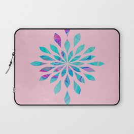 Watercolor Burst Cotton Candy Laptop Sleeve