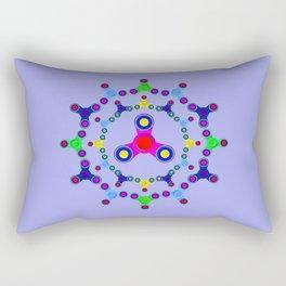 Fidget Spinner design version 2 Rectangular Pillow