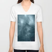 nebula V-neck T-shirts featuring NeBula by 2sweet4words Designs