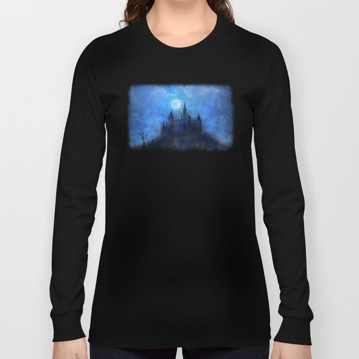 Mystical castle Long Sleeve T-shirt