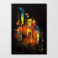 technicity lights Canvas Print