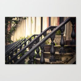 Brownstones Canvas Print