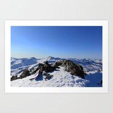 Mt Tallac Art Print