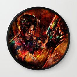 leon kennedy Wall Clock