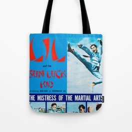 Shanghai Lil and the Sun Luck Kid Tote Bag