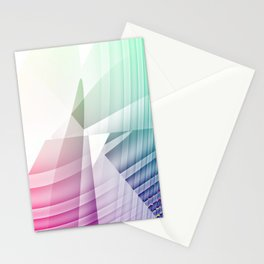 Square Abstract Stationery Cards
