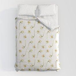 Dancing Daffodils Comforters