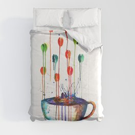 Coffee Splash Comforters