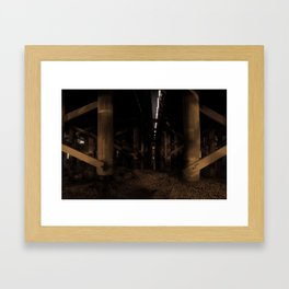 Shadows I Framed Art Print