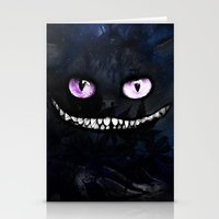 cheshire Stationery Cards featuring CHESHIRE by Julien Kaltnecker
