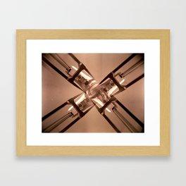 X Factor Framed Art Print