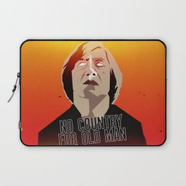 No Country For Old Man Poster Laptop Sleeve