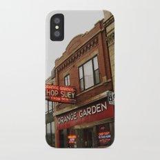 Orange Garden ~ chop suey to take home! Slim Case iPhone X