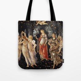 La Primavera - Allegory Of Spring - Sandro Botticelli Tote Bag