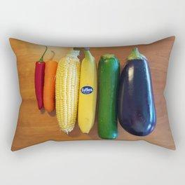Choose Your Weapon! Rectangular Pillow