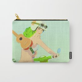 Ukulele Girl Carry-All Pouch