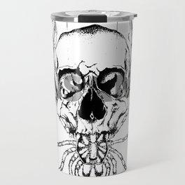 spider skull Travel Mug