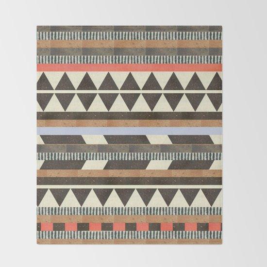 DG Aztec No.1 Throw Blanket