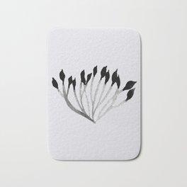 Baesic Mono Floral (Leaf 3) Bath Mat