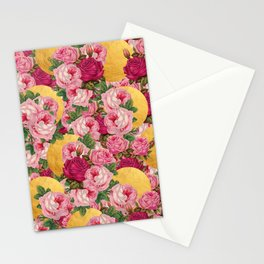 Rosy Gold Stationery Cards
