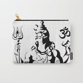 Shiva Drawing Parvati Sketch Carry-All Pouch