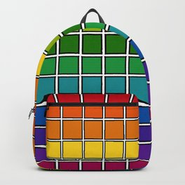 Rainbow Chex Backpack