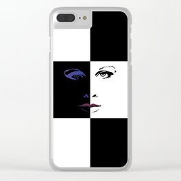 Pince Dr Who Print Clear iPhone Case