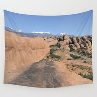 utah Wall Tapestries featuring Moab Utah by BACK to THE ROOTS