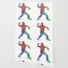 Baseball Softball Catcher 3 Art Sports Poster Wallpaper