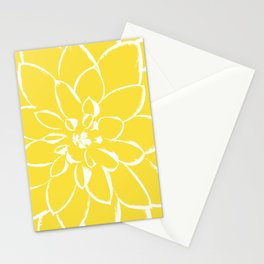 Dahlia Buttercup Stationery Cards