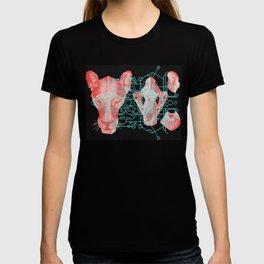 Sacred Lion Geometry T-shirt