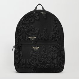 Black Bees and Lace Backpack