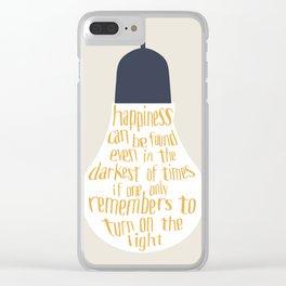 Bulb Clear iPhone Case