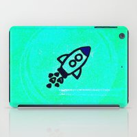 rocket iPad Cases featuring Rocket by Mr and Mrs Quirynen