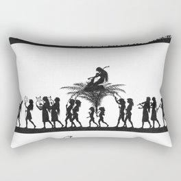 Karl Wilhelm Diefenbach - Per aspera ad astra / Through Hardship to the Stars 11 (1892) Rectangular Pillow