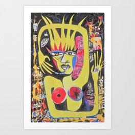 Addicted to Pleasure Art Print