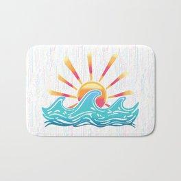 Sunrise Surf Bath Mat