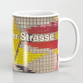 Berlin U-Bahn Memories - Wilmersdorfer Strasse Coffee Mug