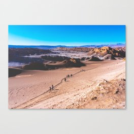 Valle de la Luna (Moon Valley) in San Pedro de Atacama, Chile 3 Canvas Print