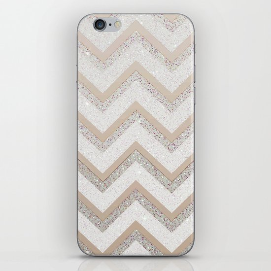 NUDE CHEVRON iPhone & iPod Skin